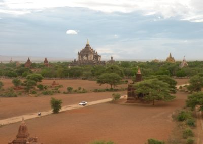 Bagan scene by the evening