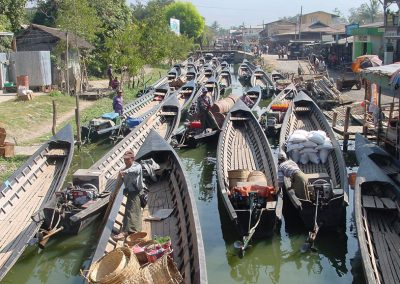 Inle Float Market